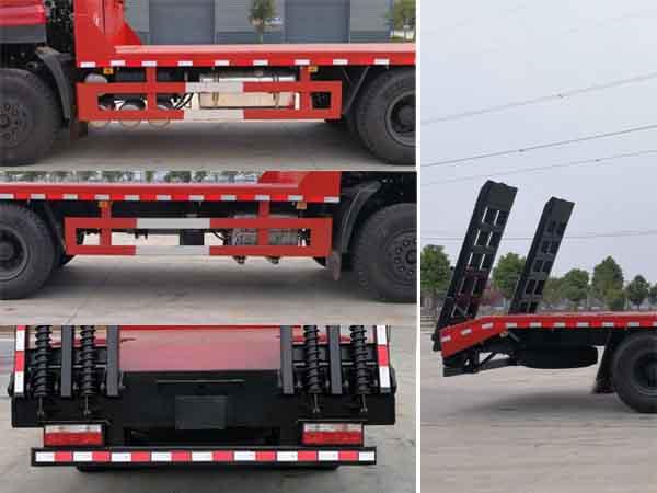 东风15吨国六平板运输车